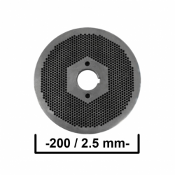 Matrita 200/2,5 mm Ø