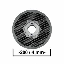 Matrita 200/4 mm Ø