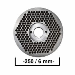 Matrita 250/6 mm Ø
