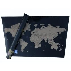 Harta razuibila a lumii,...