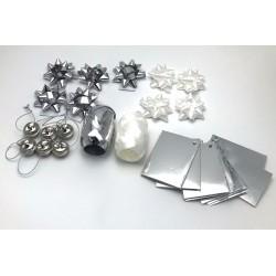 Set ambalat cadouri , Argintiu