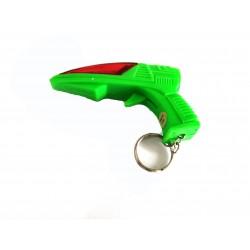 Breloc Shark Gun cu lumini...